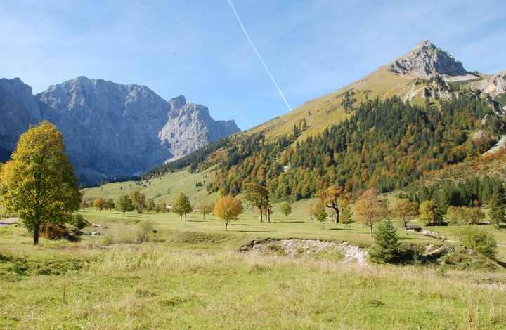 Wandern in der Eng auf der Karwendeltour