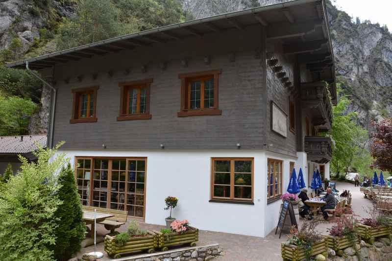 Der Gasthof in der Kundler Klamm, Tirol