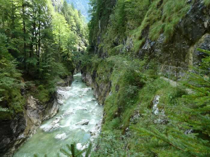 Eine weitere Schlucht in Tirol: Die Kaiserklamm in Brandenberg.