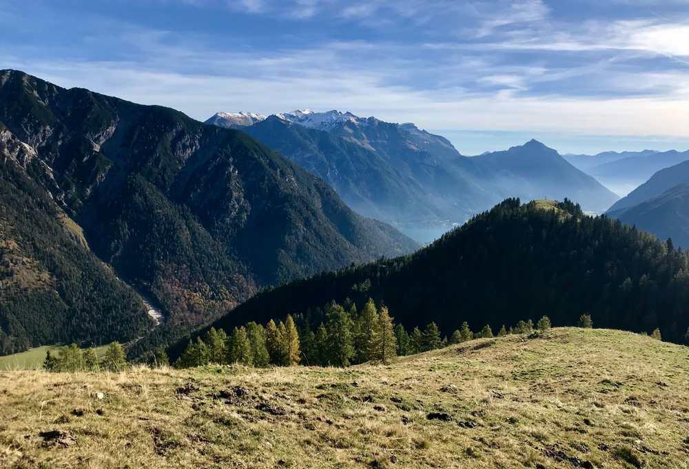 Die Stille am Berg geniessen