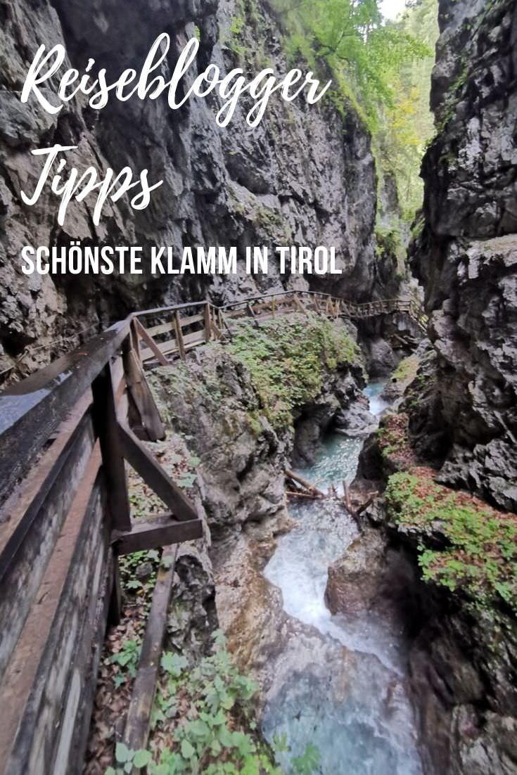 Klamm Tirol merken - mit diesem Pin auf Pinterest