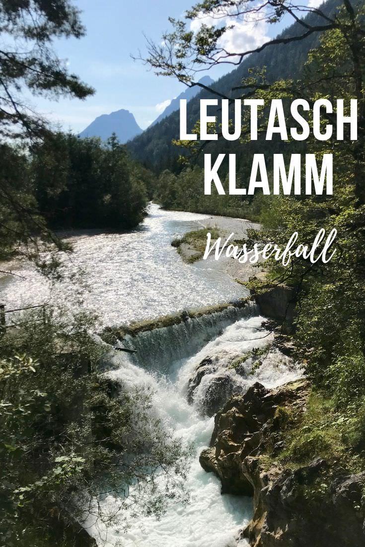 Der geheime Leutaschklamm Wasserfall in der Leutasch