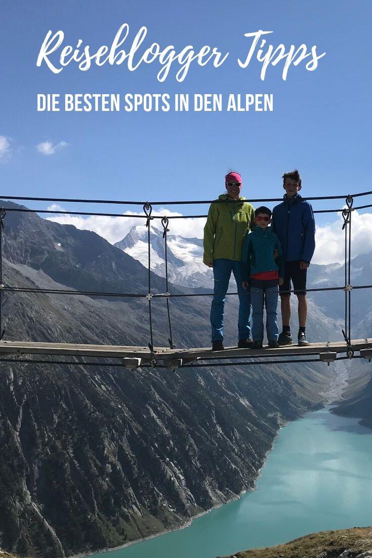 Schau dir meine besten Spots in den Alpen an