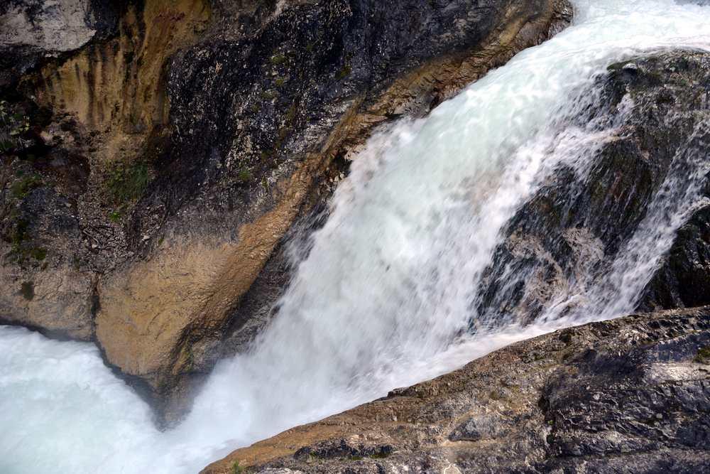 Toll fand ich den Wasserfall in der Gleirschklamm