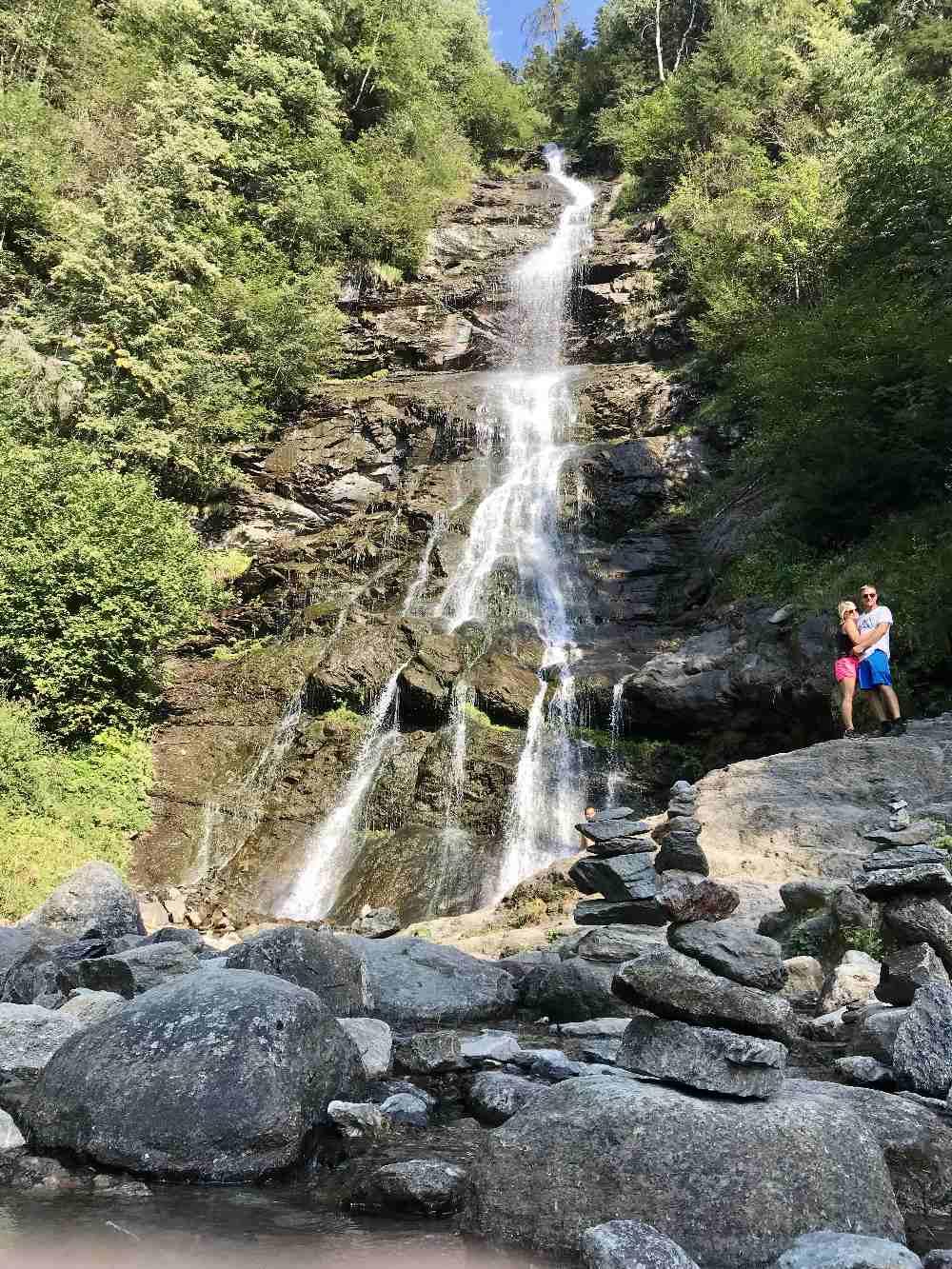 Zillertal Sehenswürdigkeiten - das ist der größte Wasserfall im Zillertal