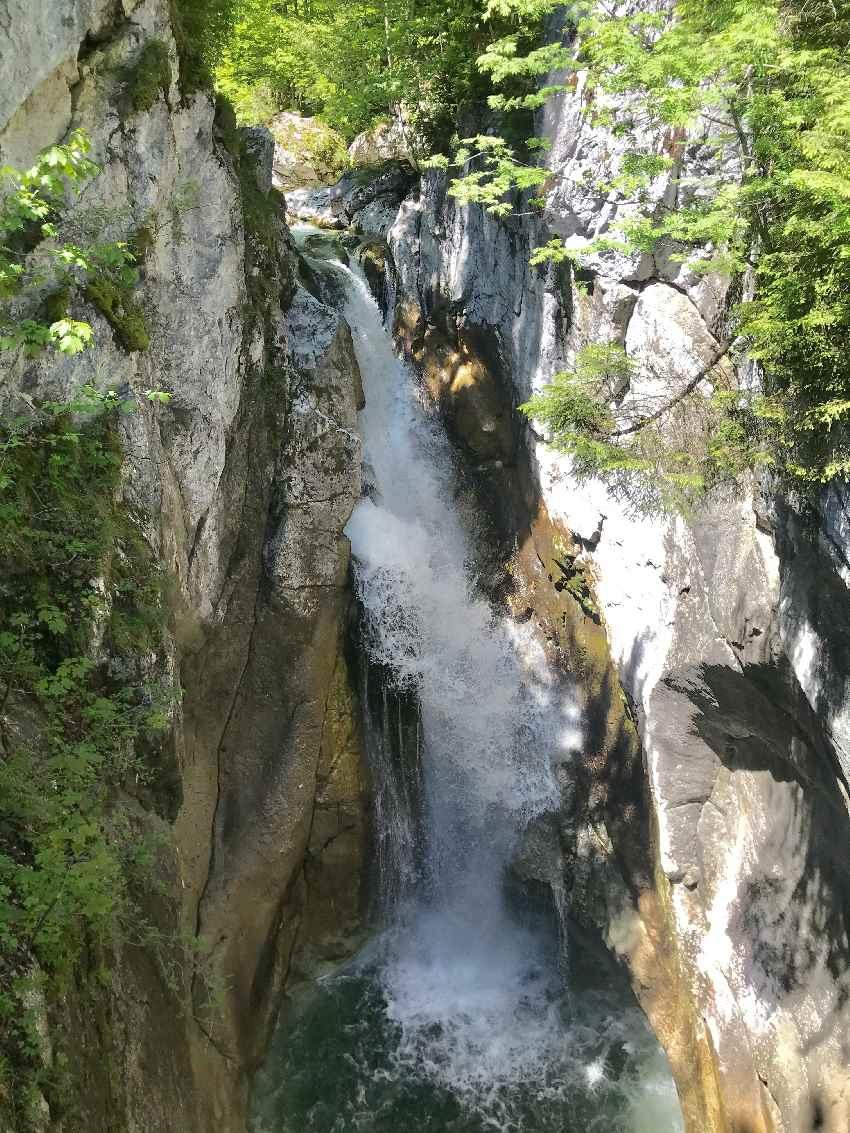 Gewaltige Tatzelwurm Wasserfälle Oberaudorf