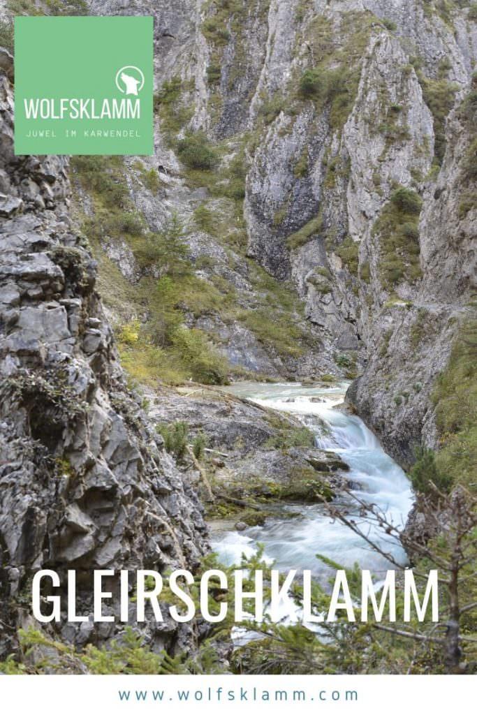 Gleirschklamm in Scharnitz