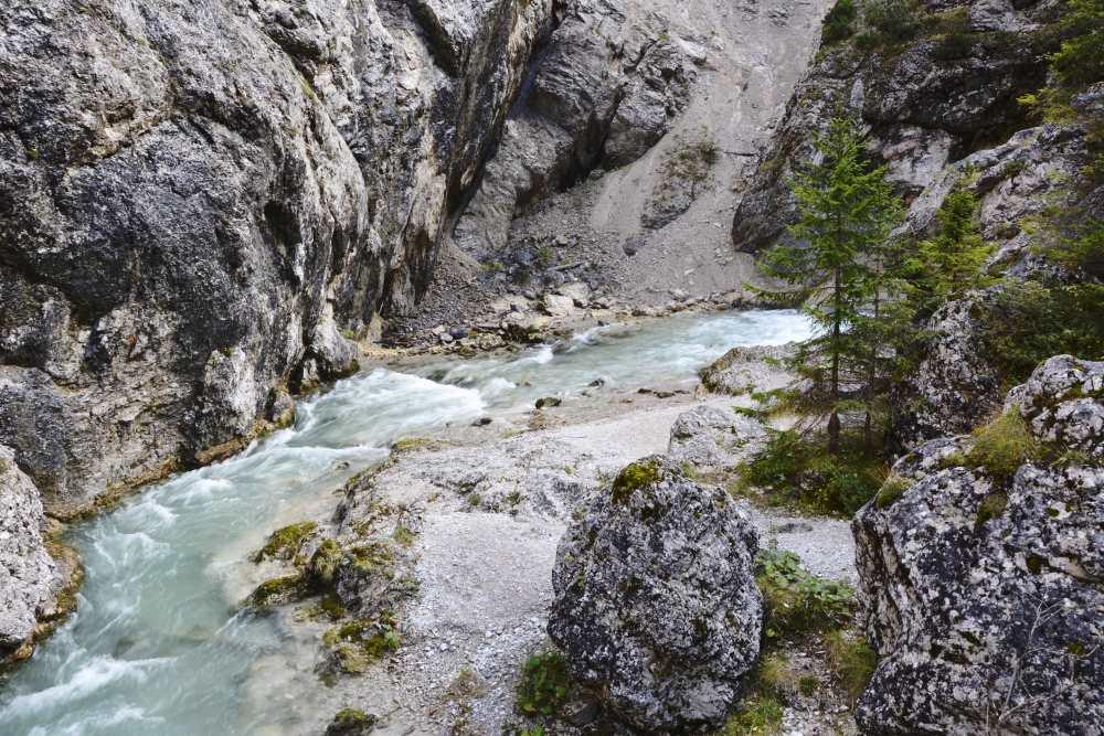 Gleirschklamm - Klamm wandern in Tirol, Scharnitz