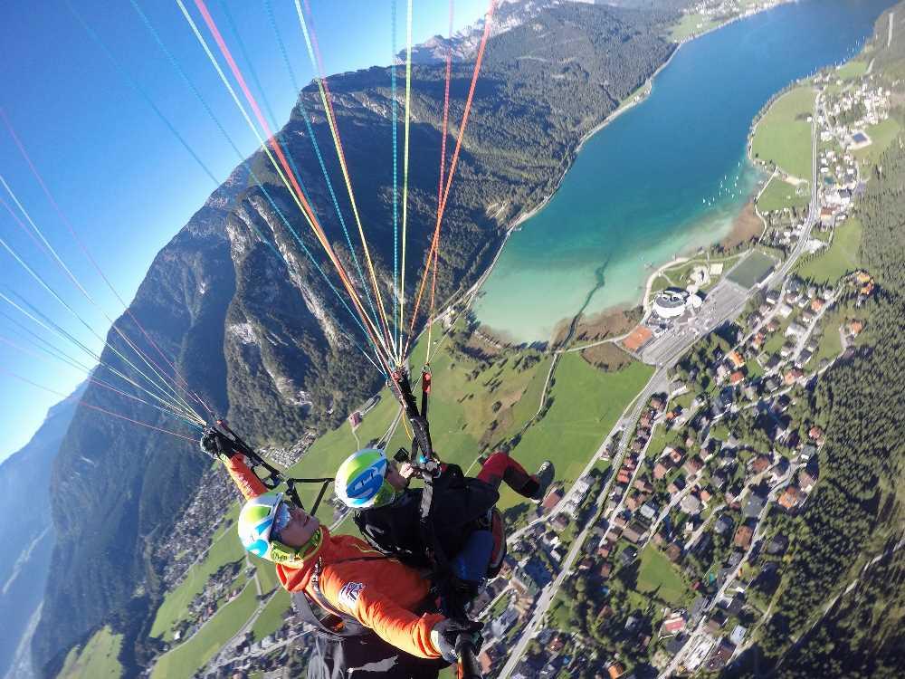 Tandem Achensee Gleitschirmfliegen - leicht gemacht mit Marco