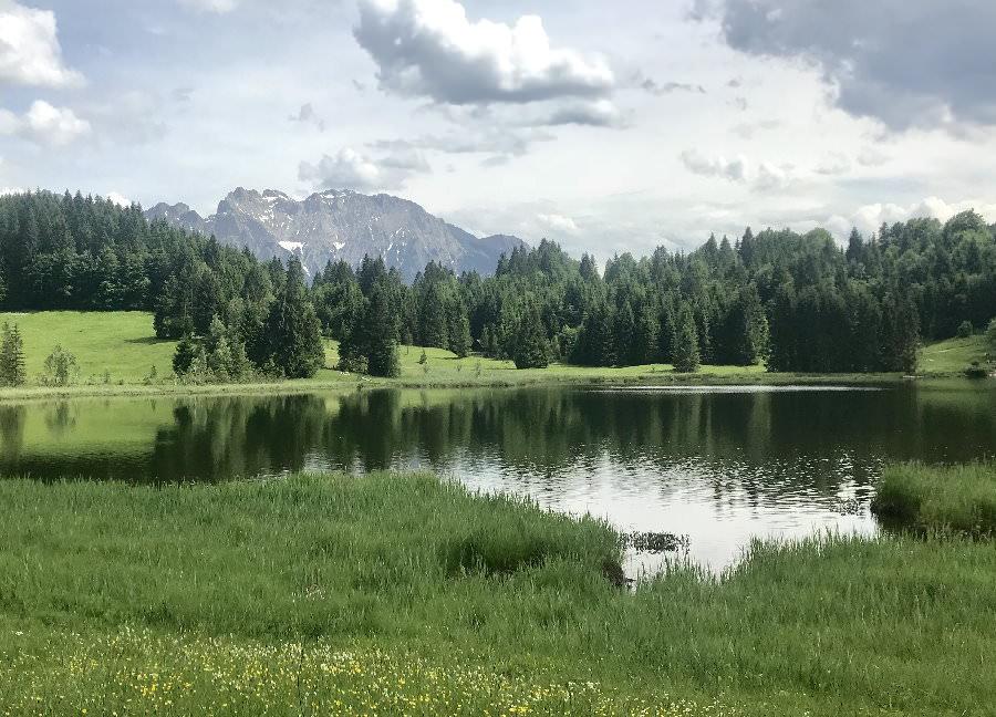 Die romantischen Seen im Karwendel
