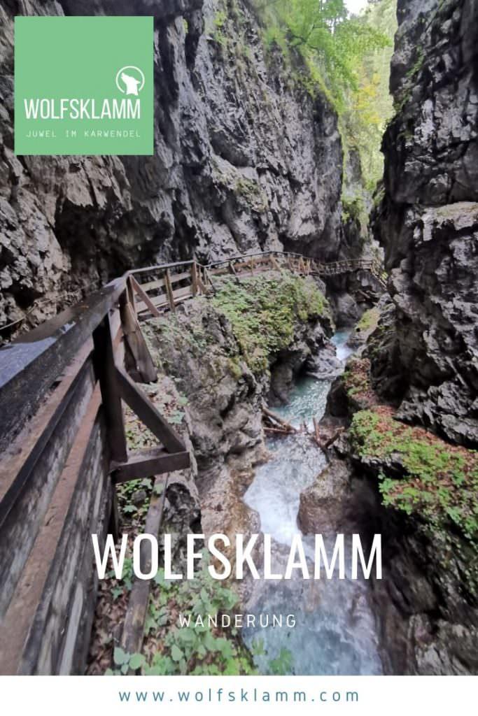 Wolfsklamm Wanderung