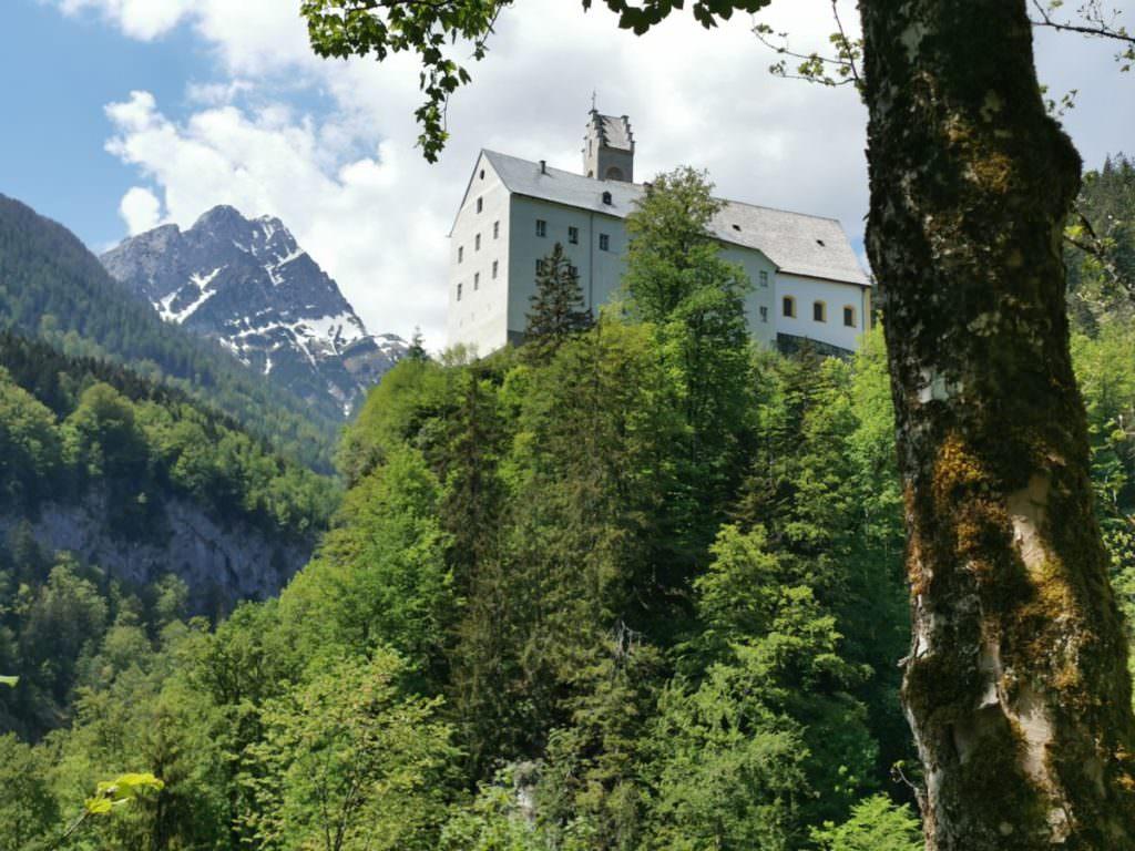 St. Georgenberg mit dem Fiechter Spitz, Karwendel
