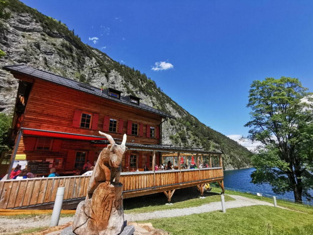 Gaisalm Achensee - Wanderziel und Ausflug per Schiff