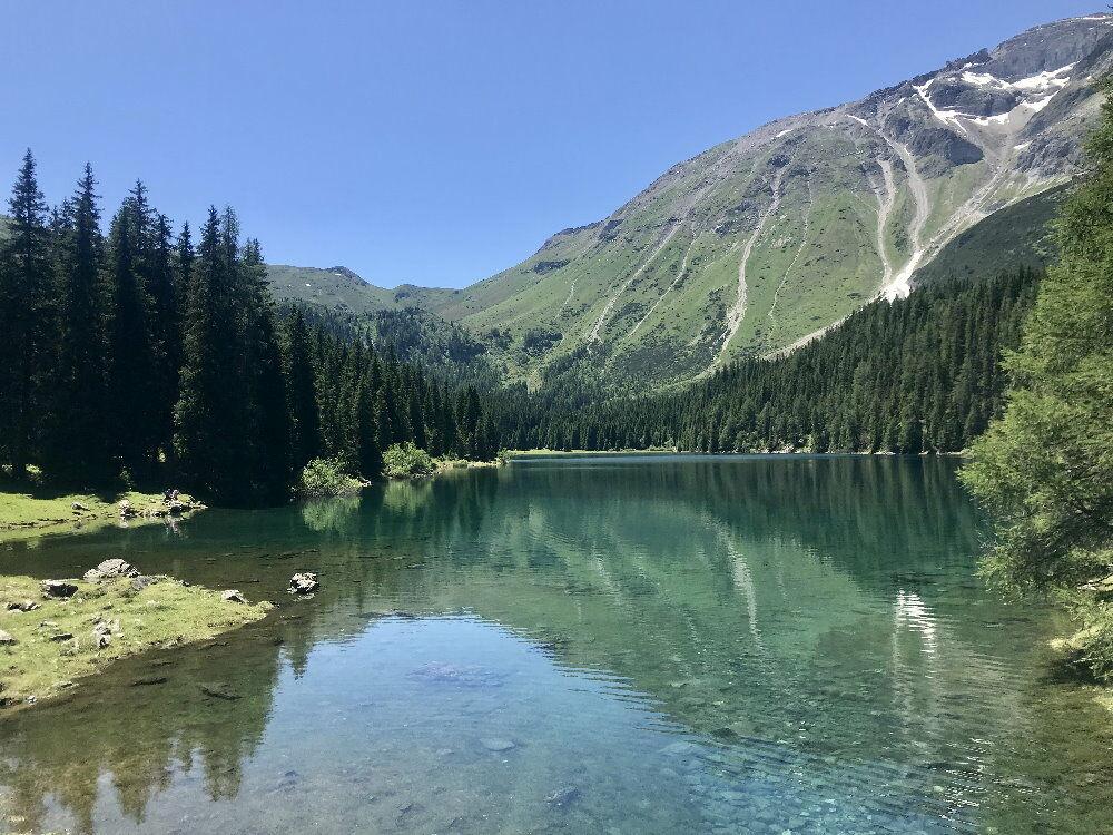 Obernberger See - noch eine der geheimen Alpen Sehenswürdigkeiten