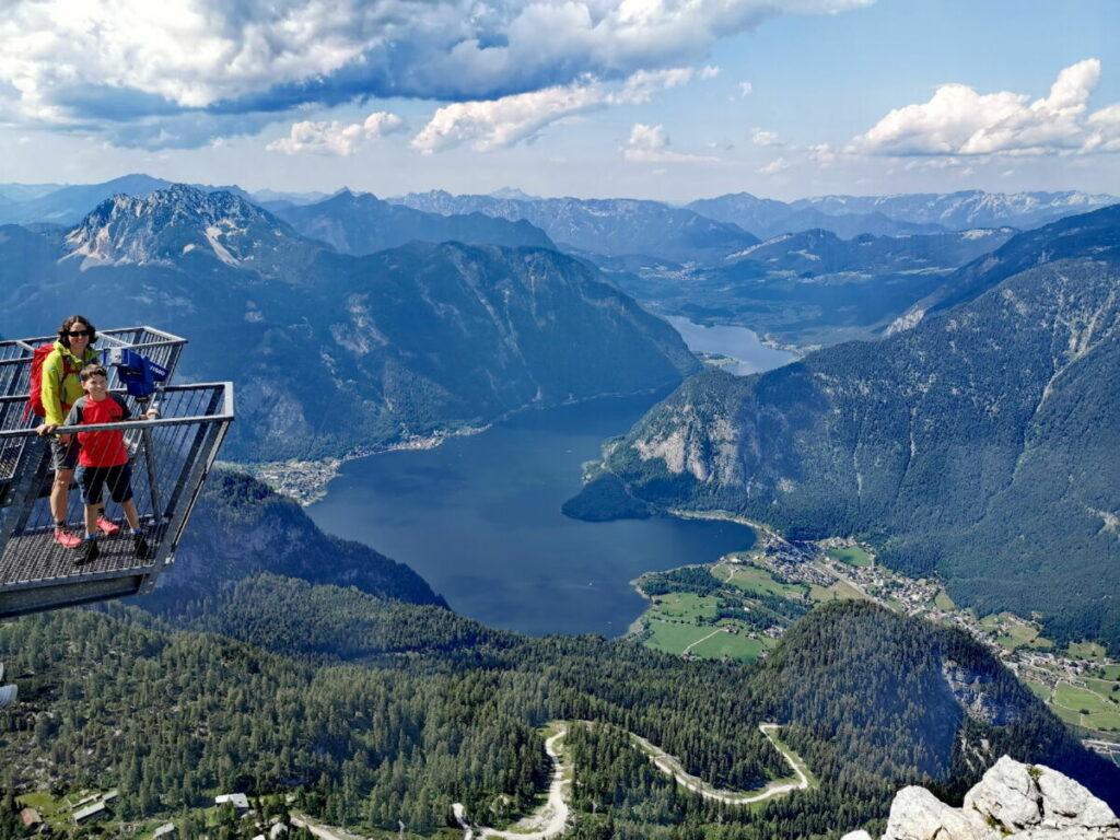 Hallstätter See - ebenfalls eine der Sehenswürdigkeiten der Alpen