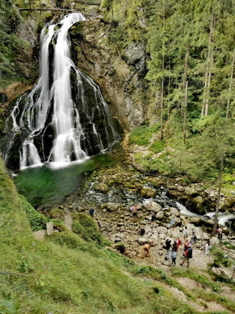 Sehenswürdigkeiten Alpen - der Gollinger Wasserfall