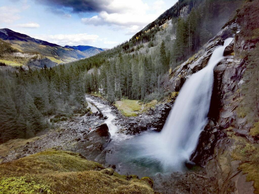 Krimmler Wasserfälle - meistbesuchte Alpen Sehenswürdigkeiten