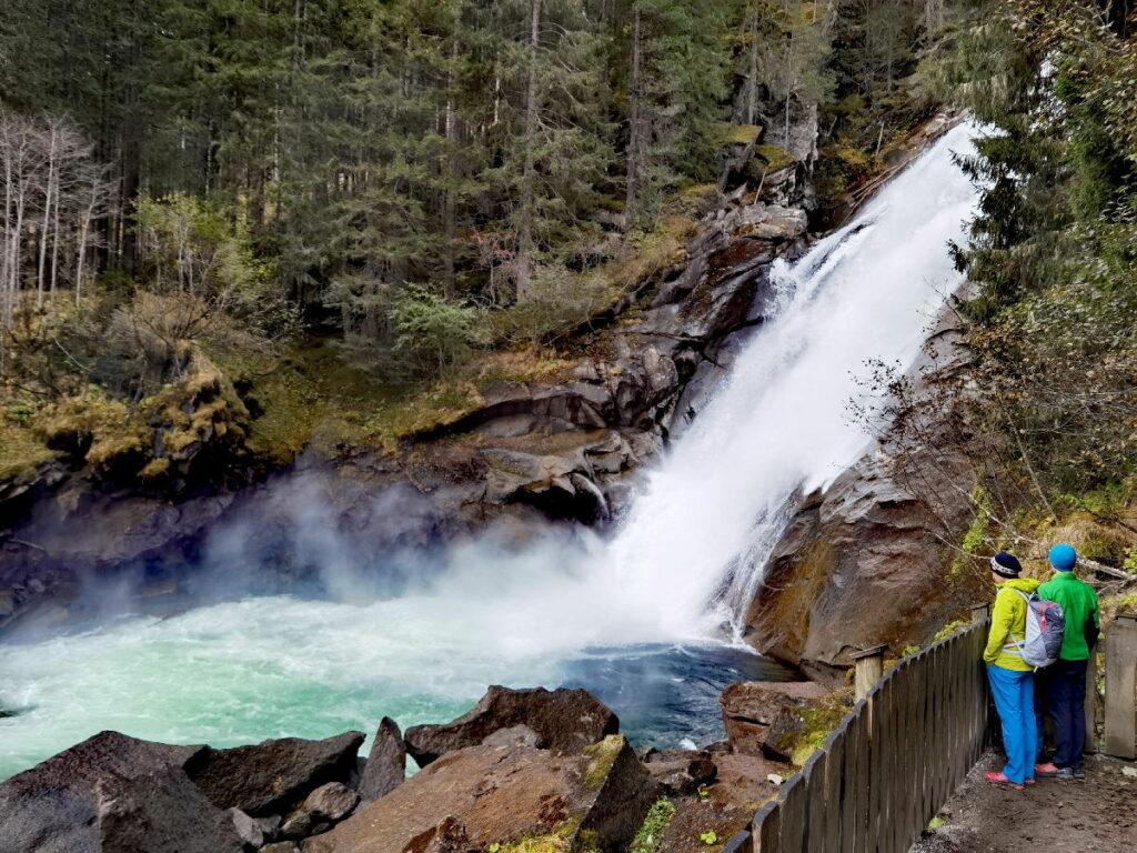 Krimmler Wasserfälle - Ausflugsziel und Sehenswürdigkeit in der Natur
