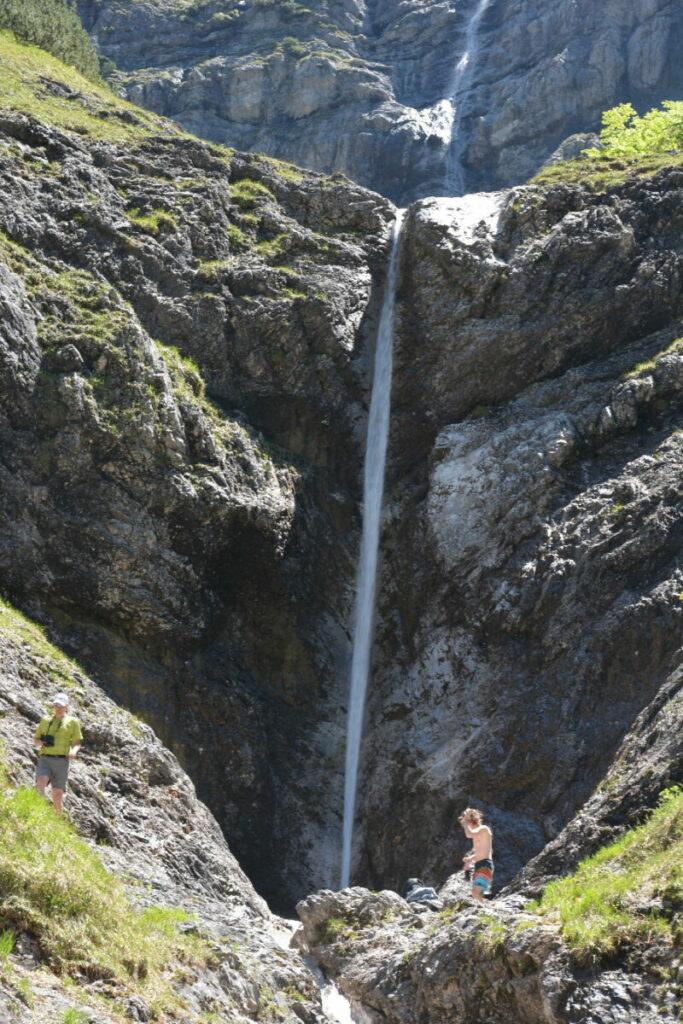 Wolfsschlucht Kreuth - Das ist der große Wasserfall in der kleinen Wolfsschlucht