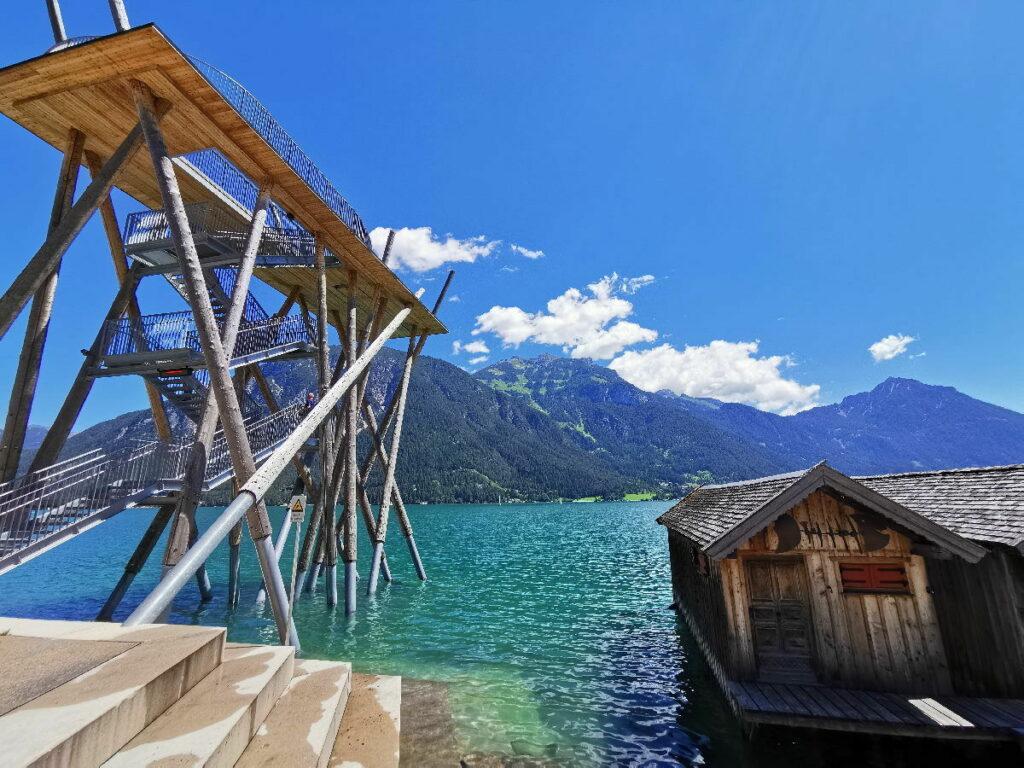 Ich zeige dir den besten Achensee Ausblick - direkt am See und oben in den Bergen!
