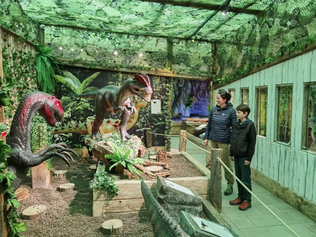 Bei jedem Wetter ein Erlebnis - und das ganze Jahr geöffnet: Dinoland Tirol in Terfens