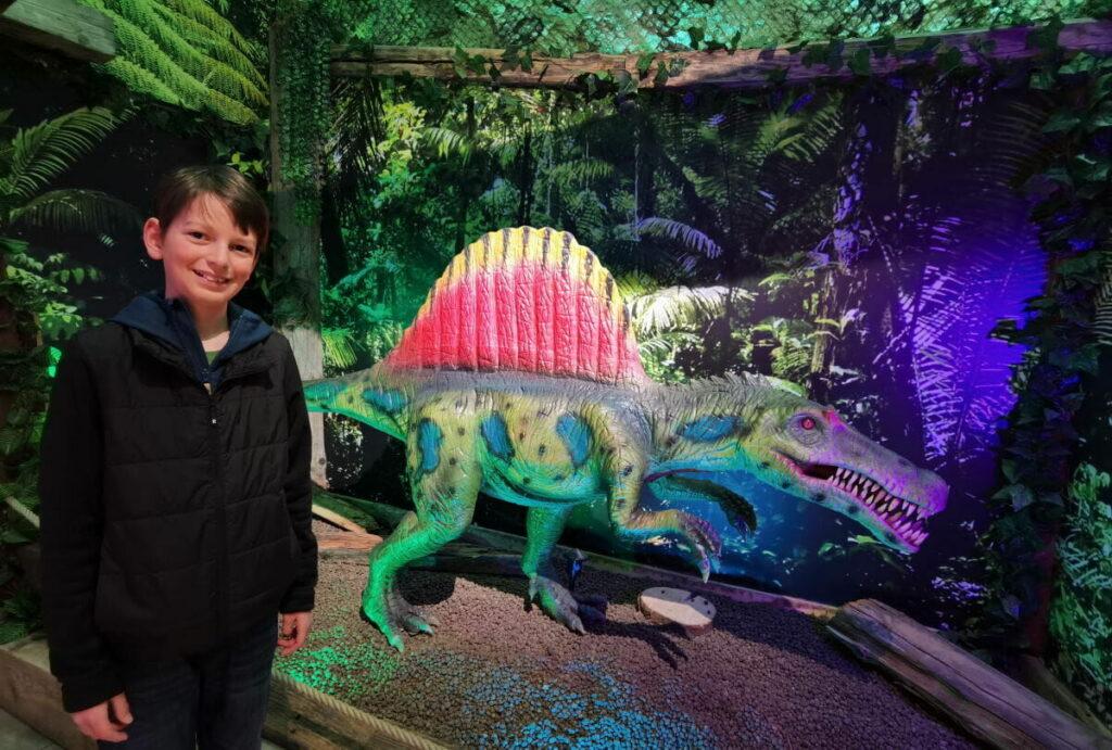 Dinosaurierpark Österreich - ein riesiges Erlebnis in Tirol mit Kindern
