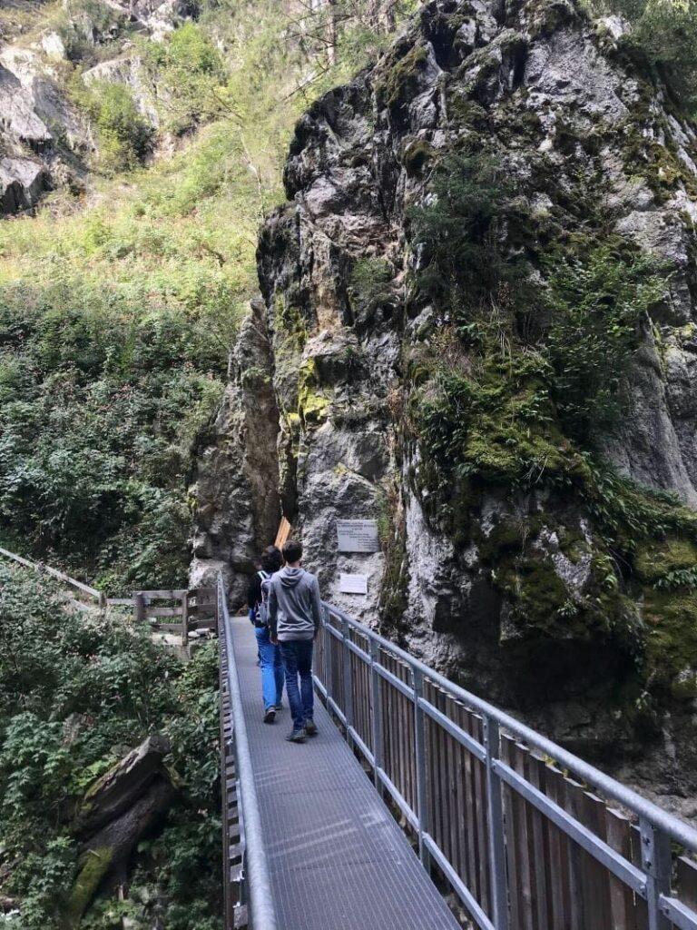 Gilfenklamm wandern - so schön ist die Klamm in Südtirol